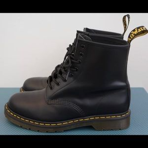 Dr Martens 1460 Boots Smooth Black Mens Size 12